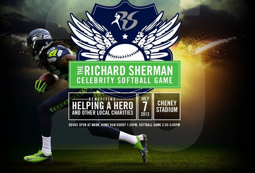 Richard Sherman Softball Game