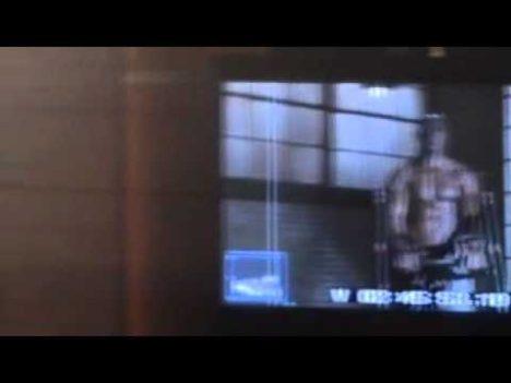 Behind the scenes The Rack video footage