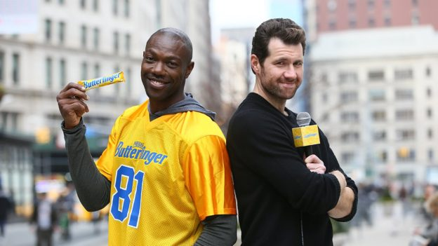Owens is teaming up with Butterfinger to offer up to $50,000 to any player fined in the AFC and NFC Championship game
