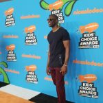 Terrell at 2018 Nickelodeon kids choice awards