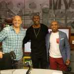 Terrell stops by CBS Sports radio to talk Hall of Fame with Tiki and Tierney