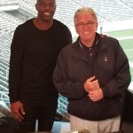 Terrell Owens stops by to talk with Mike Francesa at WFAN NY