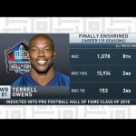 Tiki and Tierney: Terrell Owens talks Hall of Fame selection