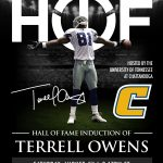 Hall of Fame Induction of Terrell Owens