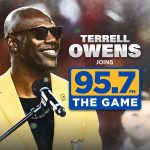 Terrell Owens with Joe, Lo and Dibs